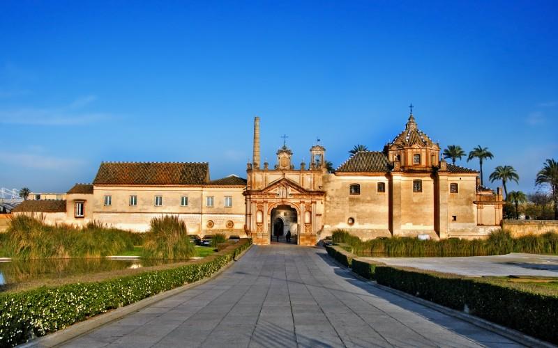 Cerca de la Cartuja de Sevilla estuvo uno de los hospitales en la Gran Peste