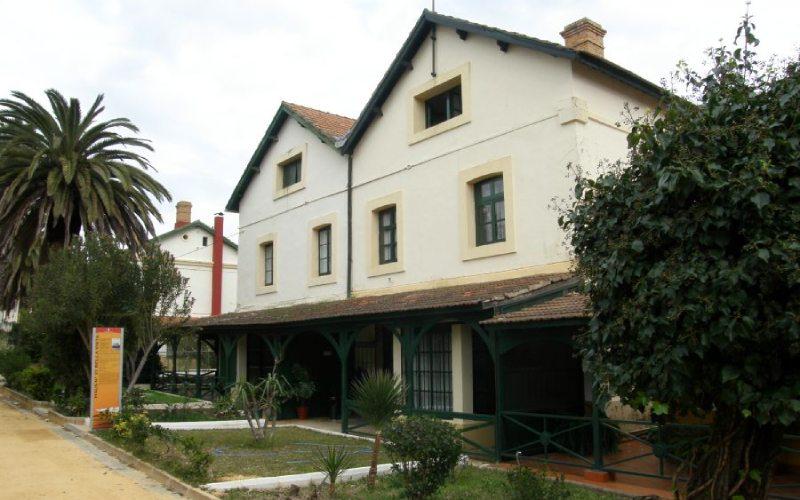 Casas del barrio de Bellavista en Minas de Riotinto
