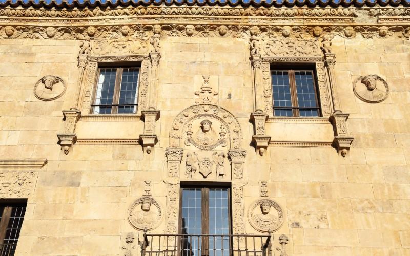 Fachada de la Casa de las Muertes