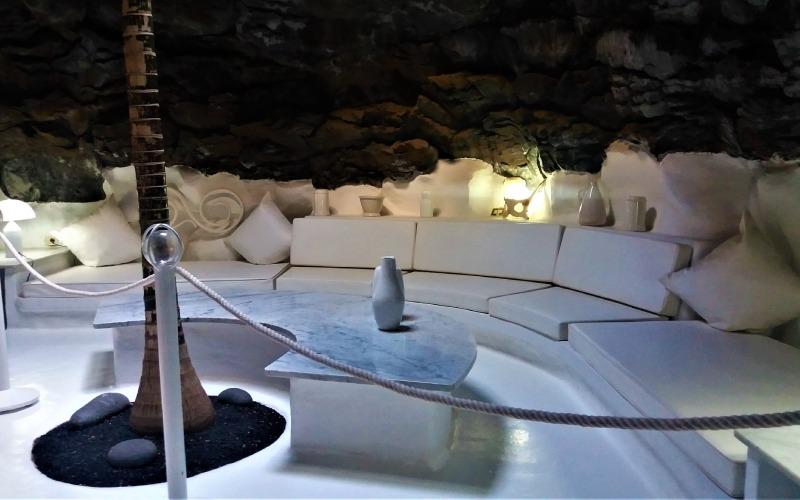Una de las salas diseñadas por Cesar Manrique