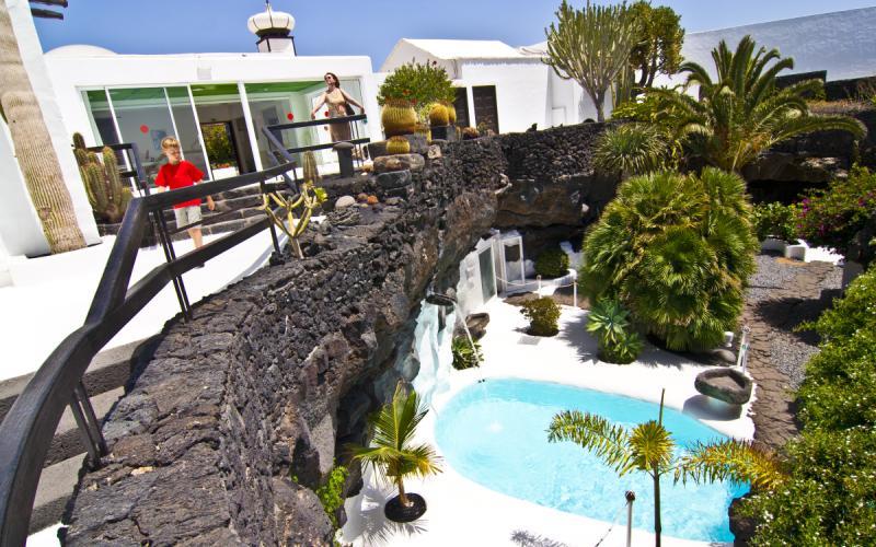 Estas son las impresionantes vistas de la casa-museo César Manrique por dentro
