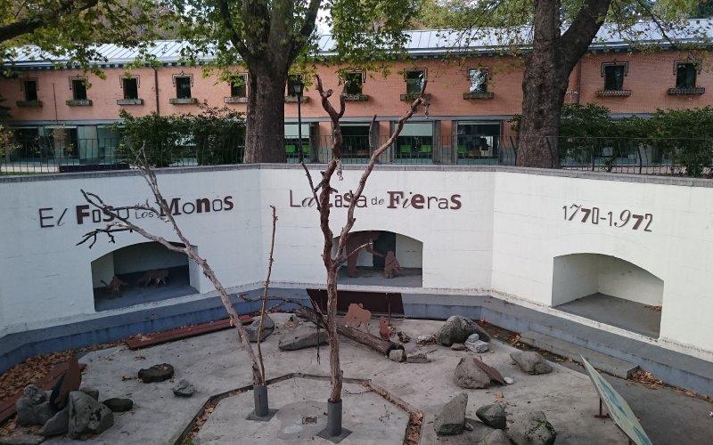 Casa de Fieras en el Retiro, Madrid
