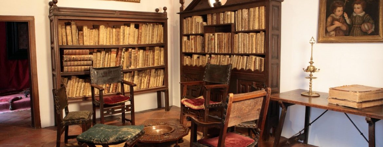 El estudio de la casa-museo Lope de Vega