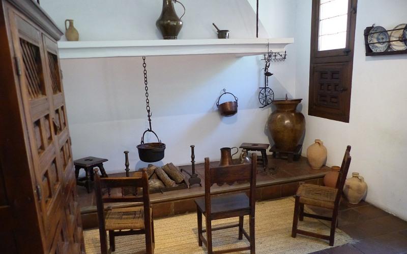 Parte de la casa-museo Lope de Vega.