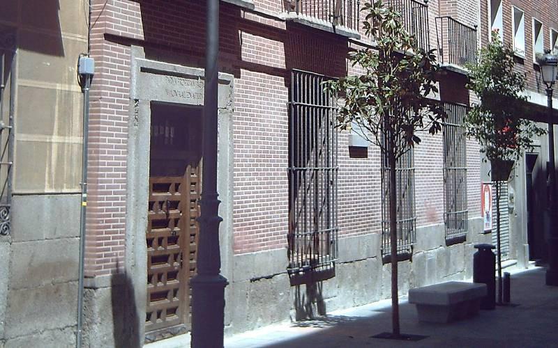 La fachada de la casa-museo Lope de Vega.