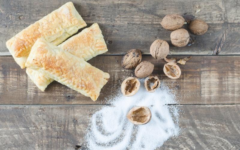 Casadielles, las empanadillas dulces más típicas de Asturias