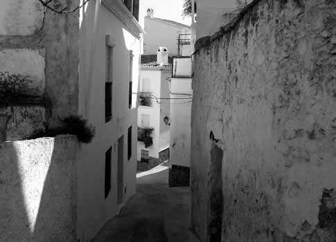 imagen antigua del Barrio del Arrabal de Casarabonela
