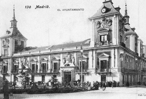 casa villa madrid foto antigua