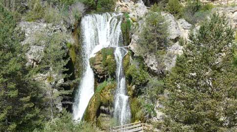 Cascada del Molino Viejo en Calomarde