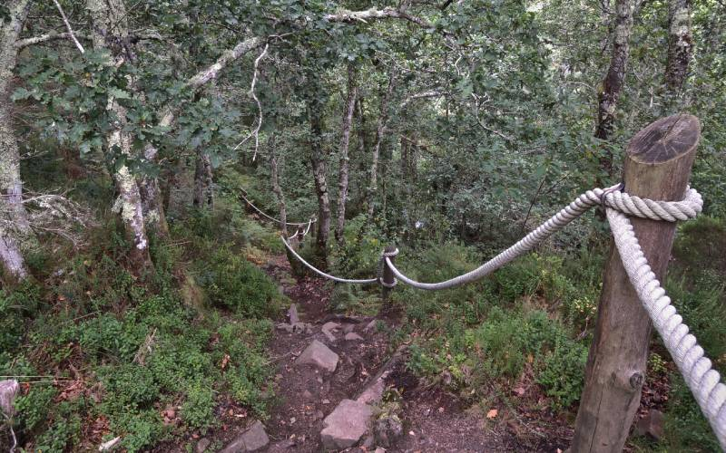Ruta hacia Cascada del Cioyo