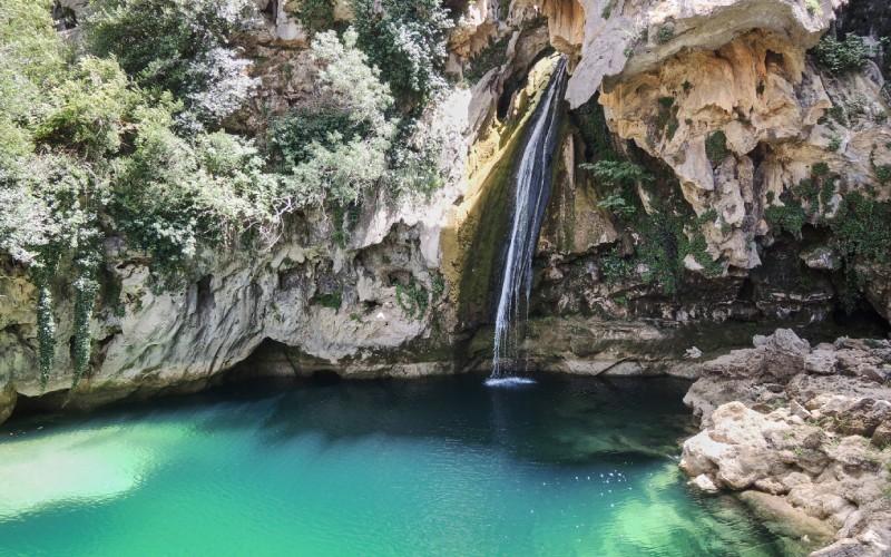 Cascada en la Sierra de Cazorla