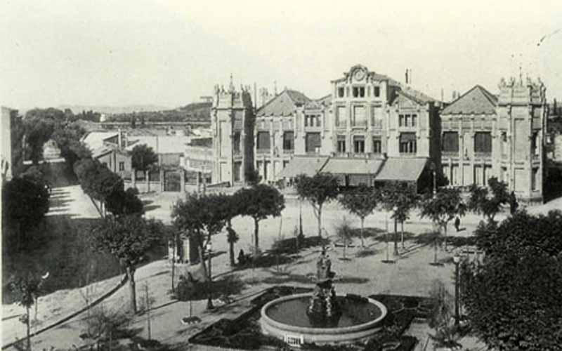 El Casino proyectado por Ildefonso Bonells en Huesca capital