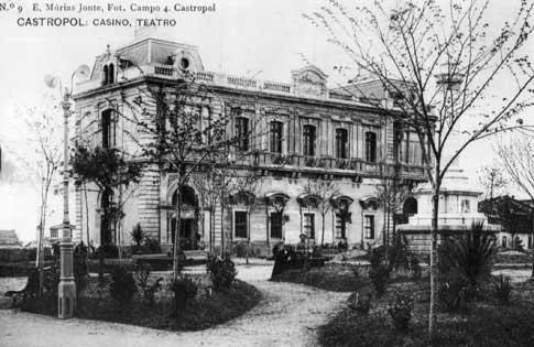 foto antigua Casino-Casa de Cultura de Castropol