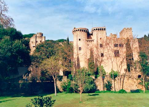 castell santa florentina canet mar