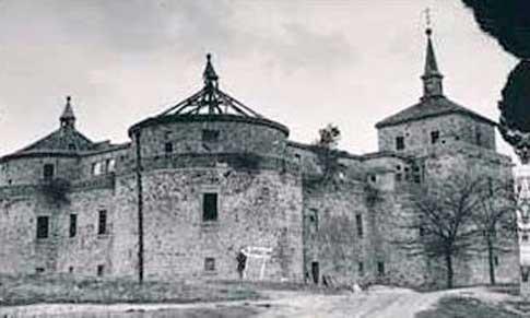 castillo villaviciosa foto antigua
