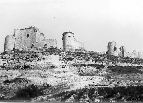 foto antigua del Castillo de Íscar