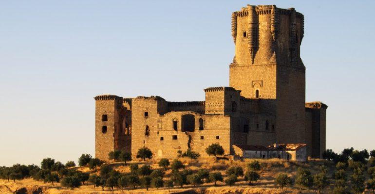 El castillo de Belalcázar, la torre del homenaje más alta de España