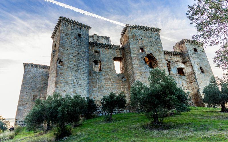 Torres perimetrales del castillo de Belalcázar