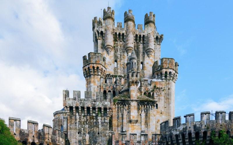 Torre del homenaje del castillo de Butrón