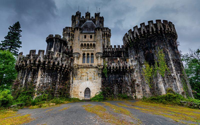 Castillo de Butrón, digno de cuento