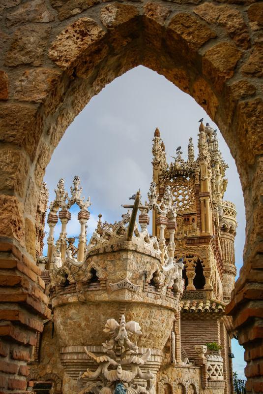 Representación de la Pinta en el castillo de Colomares
