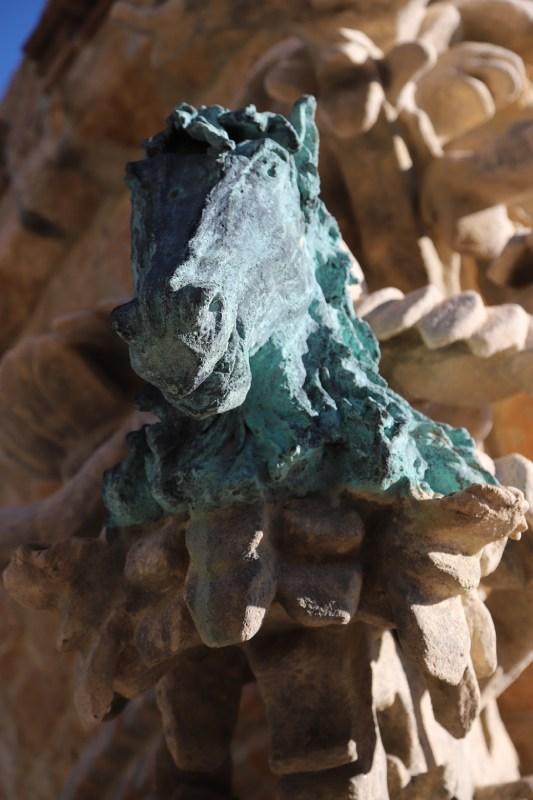 Simbolismo de Pinzón en el castillo de Colomares