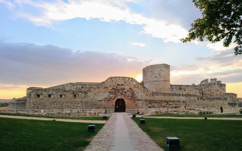 Una de las imágenes más populares del Castillo de Zamora