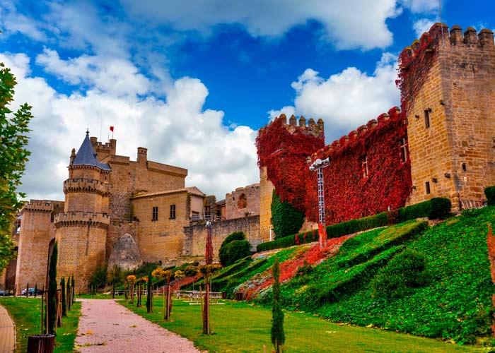 castillos espanoles cuento infantil Olite