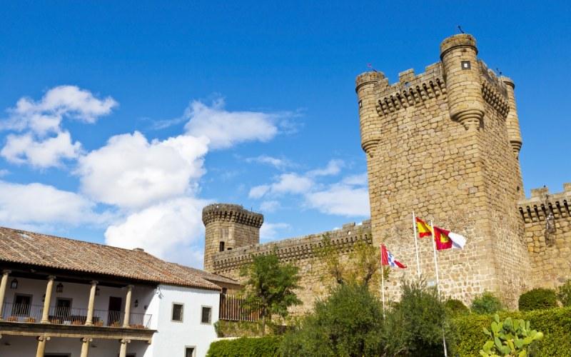Torre del homenaje en el Castillo de Oropesa