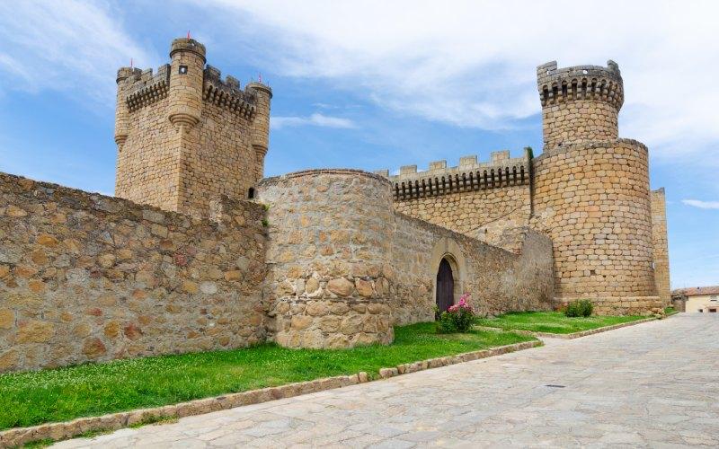 Exterior del castillo de Oropesa