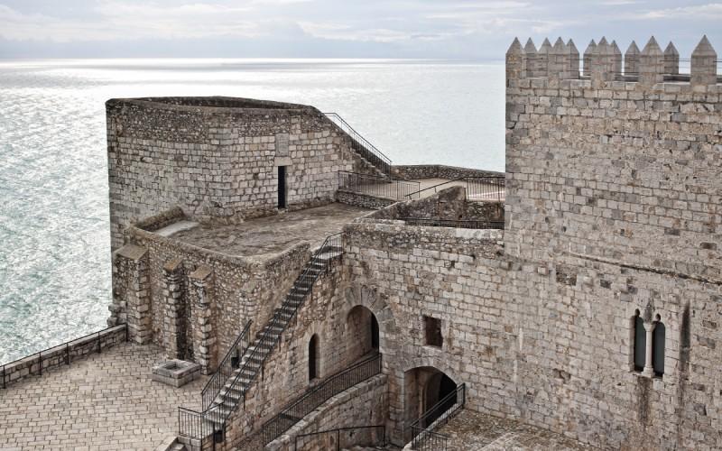 Castillo del Papa Luna, en Peñíscola