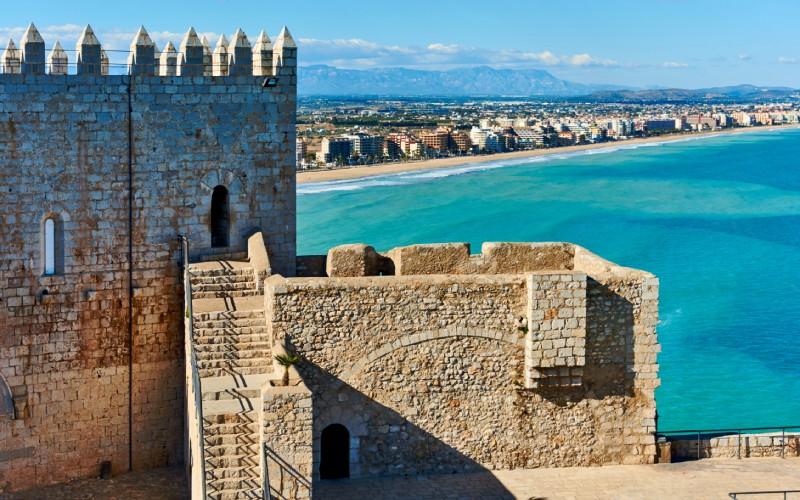 Peñíscola, la ciudad en el mar, fue el feudo de Benedicto XIII durante sus últimos años