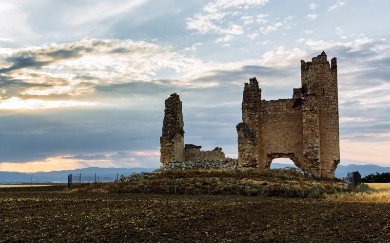 Ruinas del castillo de la Caudilla o Rivadeneyra