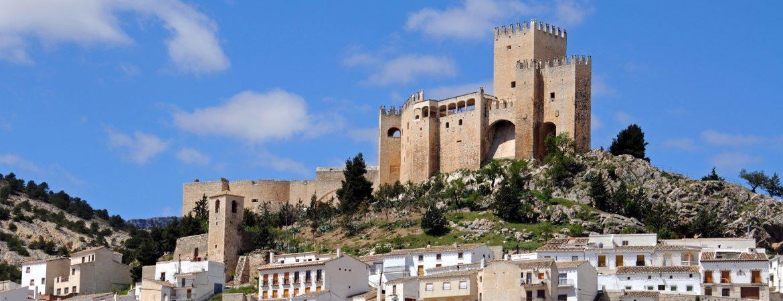 Panorámica del castillo de Vélez-Blanco