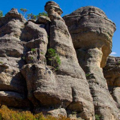 Formaciones de Castroviejo, una ciudad encantada en Soria