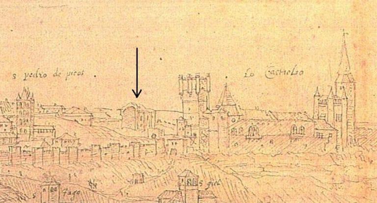 dibujo segovia 1562