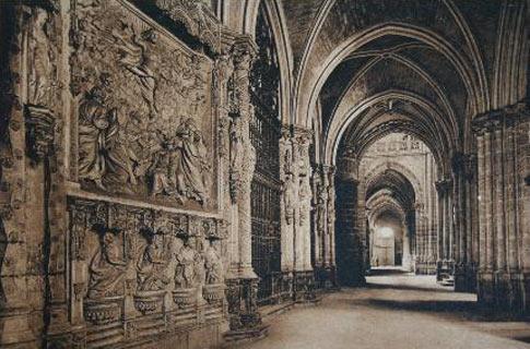 fotografia antigua catedral burgos