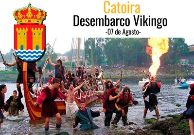 catoira-desembarco-vikingo