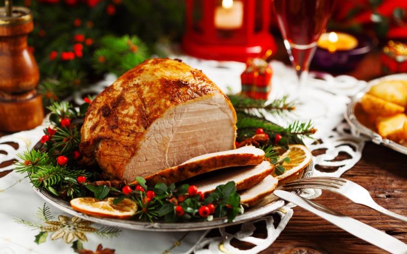 Cena típica de Navidad