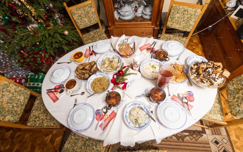 Una cena cualquiera de Nochebuena