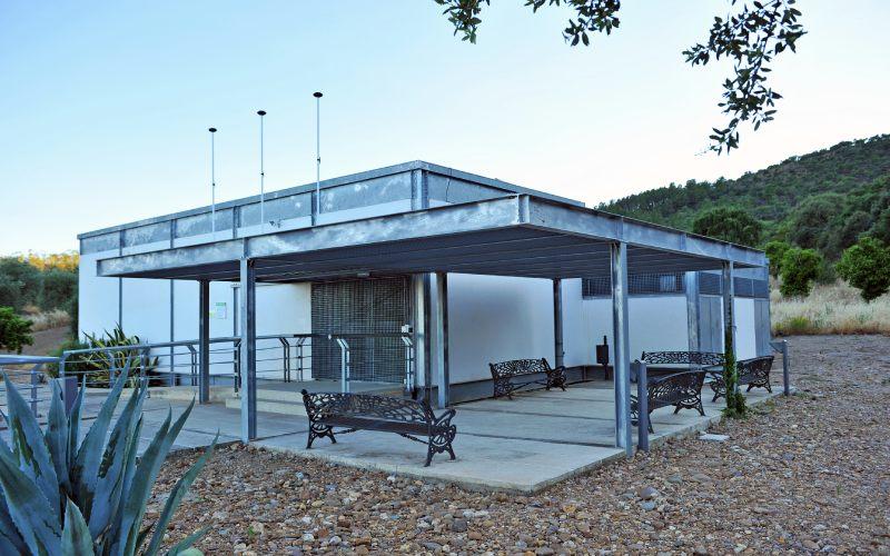 Centro de interpretación de Santa Lucía del Trampal en Alcuéscar