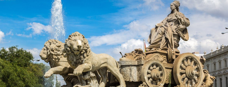 Fuente de Cibeles en Madrid