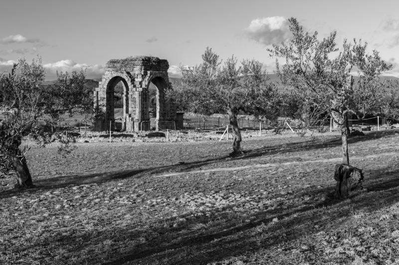 Cáparra ruinas romanas en españa