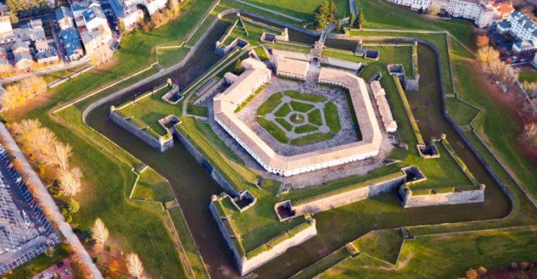 Ciudadela de Jaca, la única fortaleza de estrella española que se conserva entera