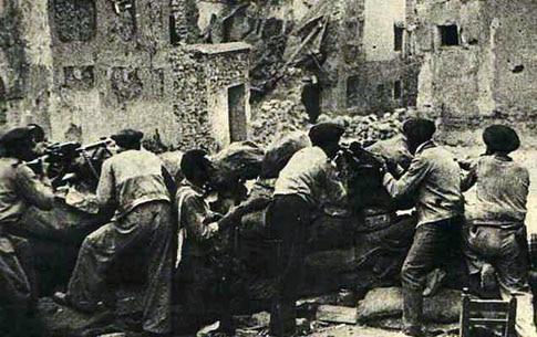 foto antigua batalla belchite
