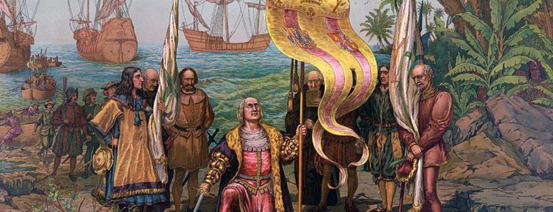 Colón llega a América