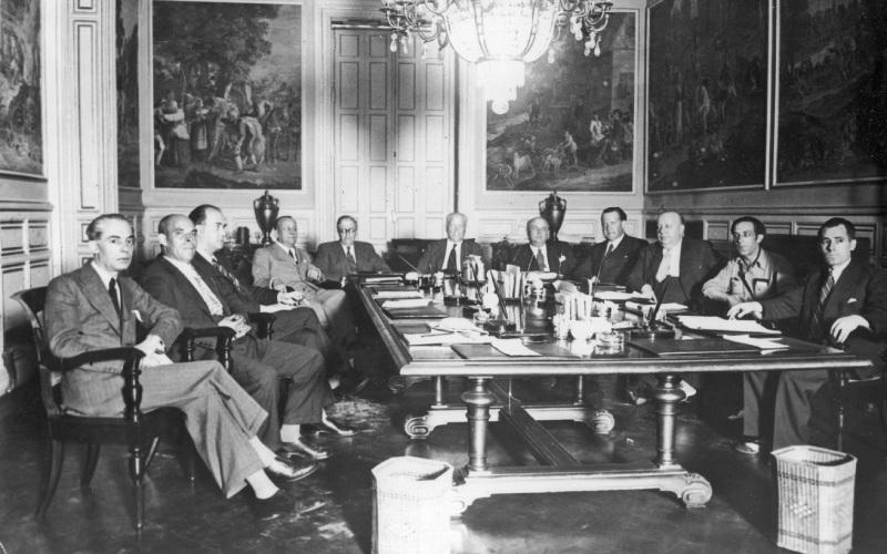 Consejo Ministros Largo Caballero