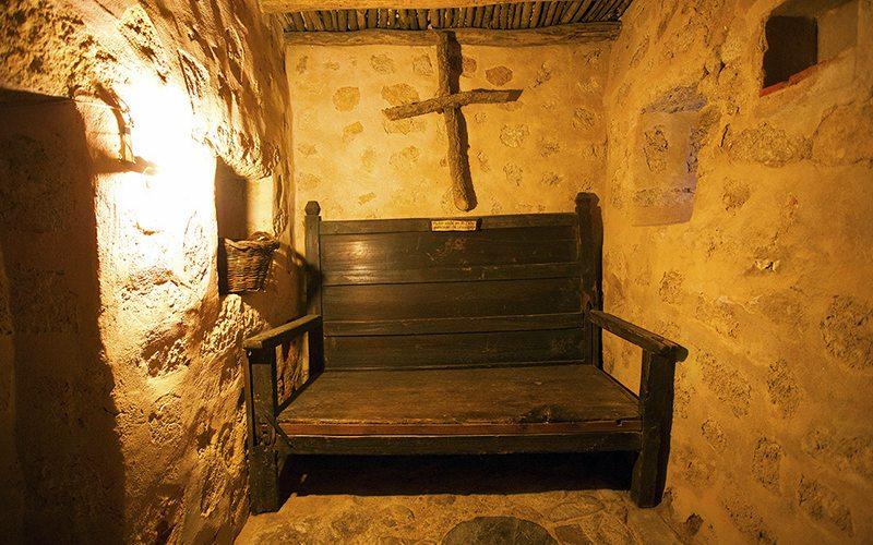Celda del convento del Palancar