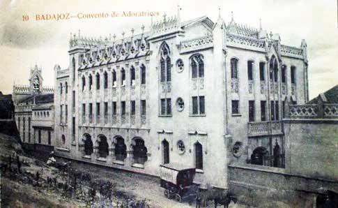 Convento Adoratrices badajoz foto antigua