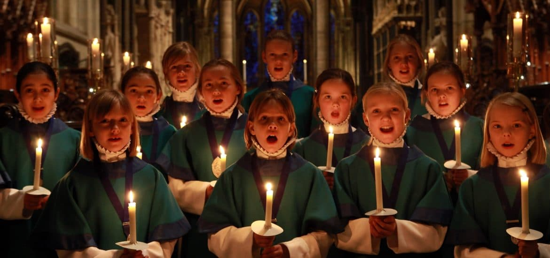 coro tiempo navidad